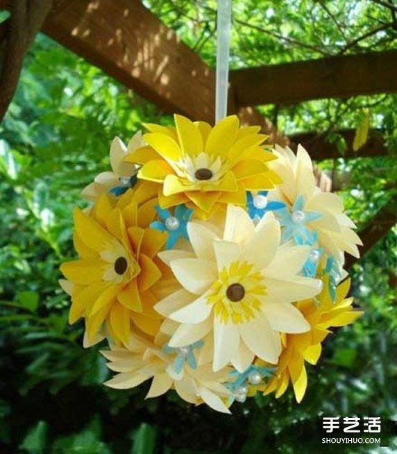 草绿了,花红了,春姑娘来了,可惜要上班不能出去踏春啊~那就自己动手DIY美哒哒的纸花,让身边春意盎然~ 按照下面的步骤,重复制作出大、中、小三朵小花,叠放在一起组合成最后的美丽纸花。如果有余力的话,还可以把纸花DIY成美丽花球哦,快来试试看吧~~~