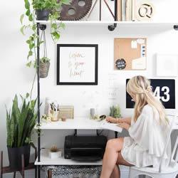 在家办公?替自己打造舒适办公环境的布置技巧