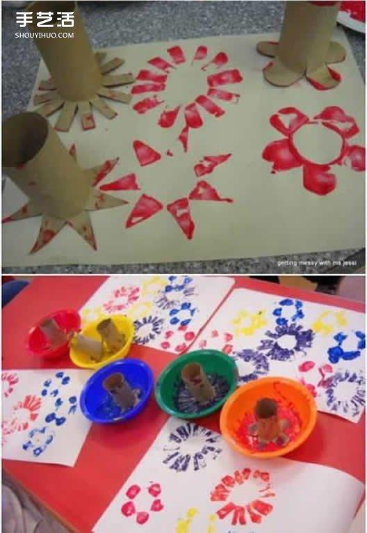 手纸筒手工小制作 适合孩子的手纸筒小手工
