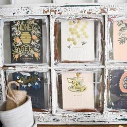旧窗框或旧画框回收再利用制作小清新风