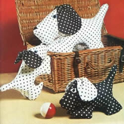 不织布狗狗玩具布玩具DIY手工制作带图纸