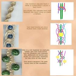 森女风的麻绳手链的编法 麻绳编织手链图解 11 阅读 ...