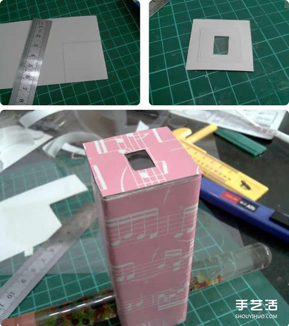 万花筒制作方法过程 手工万花筒制作图解