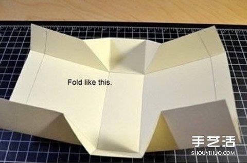 折纸盒子制作图解 纸盒子怎么折方法带展开图