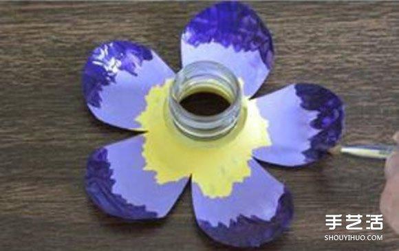 花朵制作方法 矿泉水瓶做花朵的步骤图图片