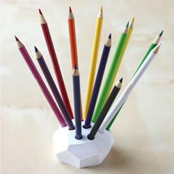 如何用软陶制作笔插 软陶笔插DIY图解教程