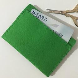 简约不织布零钱包教程 手工布艺卡包制作