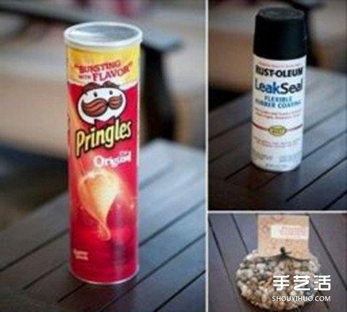 薯片筒diy手工制作 你没想过的薯片筒大变身