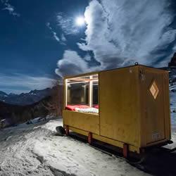 绝佳的视野享受 玻璃小屋让浩瀚星空伴你入眠