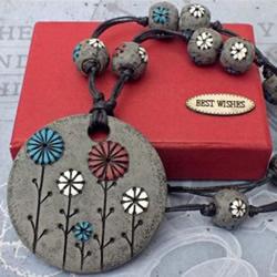 软陶项链的制作方法 超轻粘土项链DIY步骤
