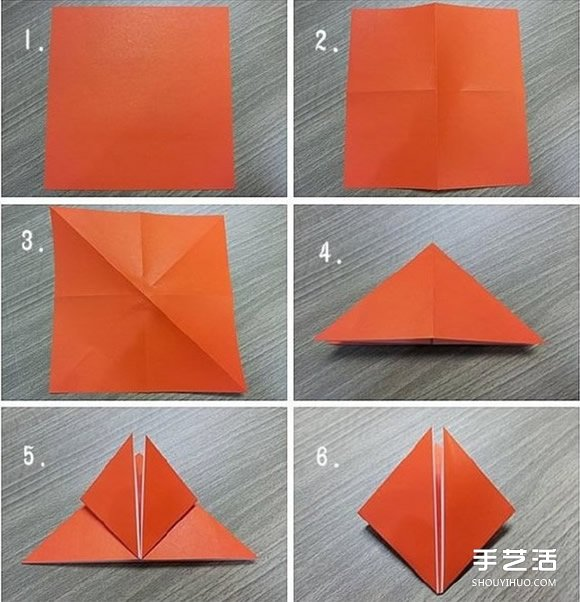 关于立体郁金香折纸教程