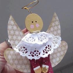 如何用雪糕棍制作小天使 雪糕棍天使制作教程