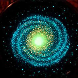 木碗里的银河系DIY 会发光的木碗宇宙制作教程