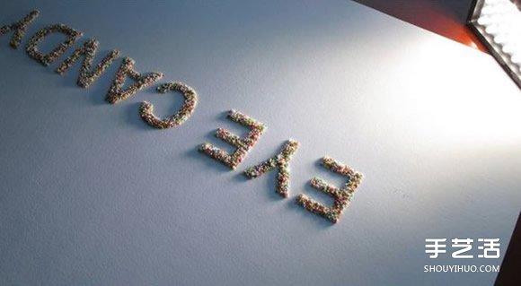 装饰立体文字制作方法 立体英文字母墙饰diy - www.shouyihuo.com