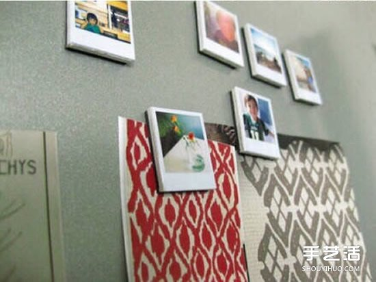 相片磁贴手工diy制作教程 可以当做冰箱贴用