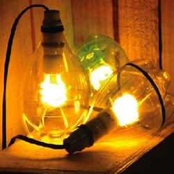 雪碧瓶制作照明灯具的方法教程 简单又好看