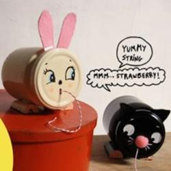 玻璃罐废物利用制作动物造型收纳罐的方
