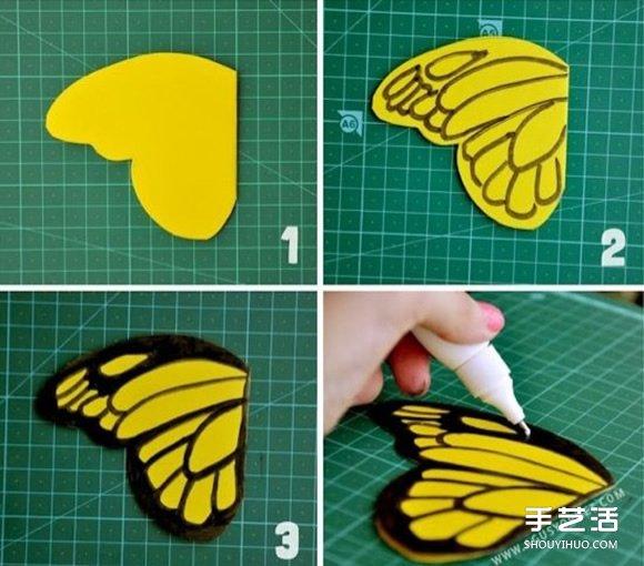 简单的儿童剪纸条形花边