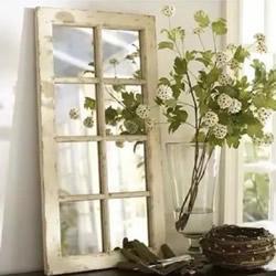 旧窗户改造DIY制作大全 变成装饰家居的亮