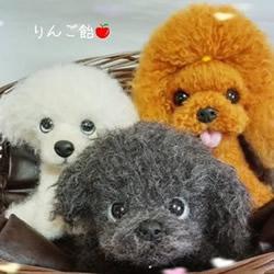 超细腻的羊毛毡动物图片 根本就是有生命啊!
