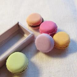 超轻粘土制作马卡龙甜点小饰品的方法图解教程