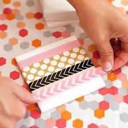 石膏板废物利用 自制色彩缤纷杯垫的方法教程