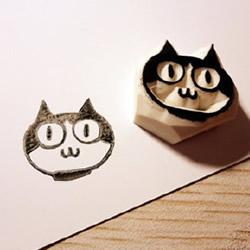 猫咪图案橡皮图章的制作方法图解 简单易学哦~