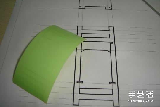 洗洁精瓶子废物利用diy制作迷你椅子模型