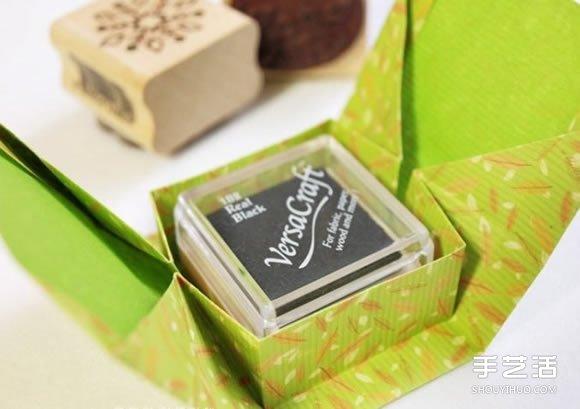 简单折纸礼物盒图解 长方形礼品盒的折法 - www.shouyihuo.com