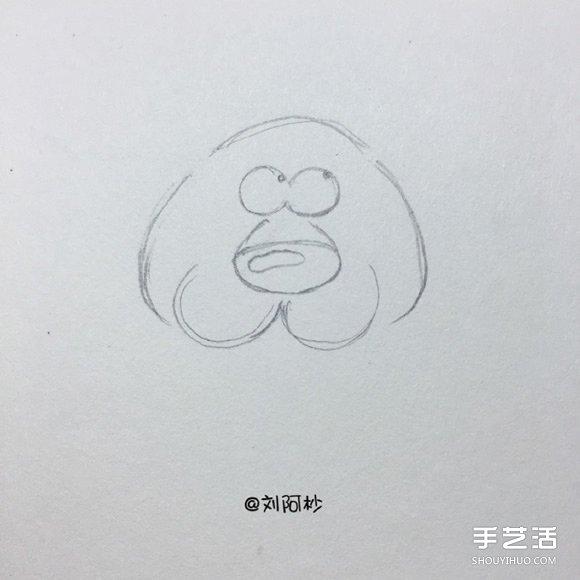 老虎卡通简笔画图片