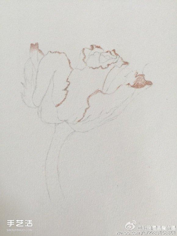 彩铅花卉手绘图片教程内容|彩铅花卉手绘图片教程 ...