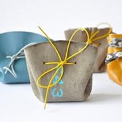 皮革束口包制作教程 简单束口包的做法图解