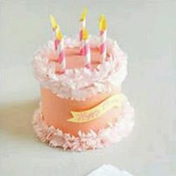 儿童蛋糕模型制作教程 迷你纸蛋糕的做法图解