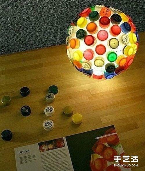 简单又有趣的瓶盖废物利用手工小制作图片