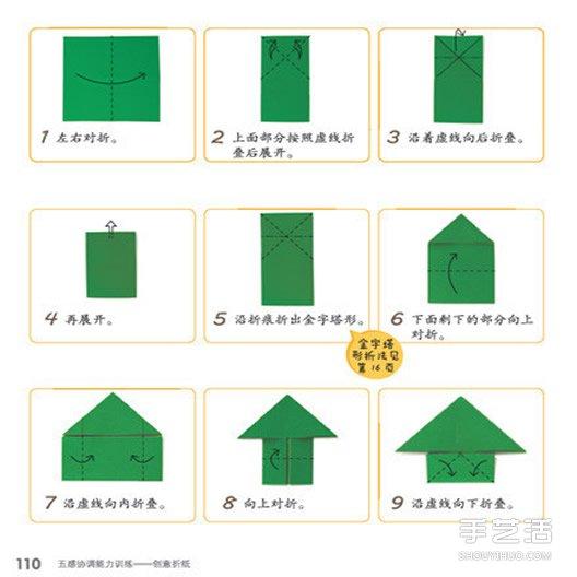 会跳的青蛙的折纸图解与方法教程