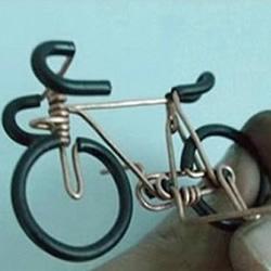 铜丝自行车的做法教程 铜丝手工制作自行车