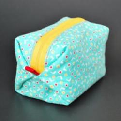 长方形化妆包制作方法 简单布艺化妆包DIY教程