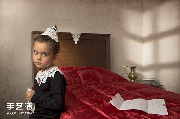 生活时尚_模仿世界名画拍摄的儿童摄影作品 超有创意!_手艺活网