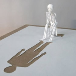 A4纸雕塑作品图片 精致的A4纸模型图片欣赏