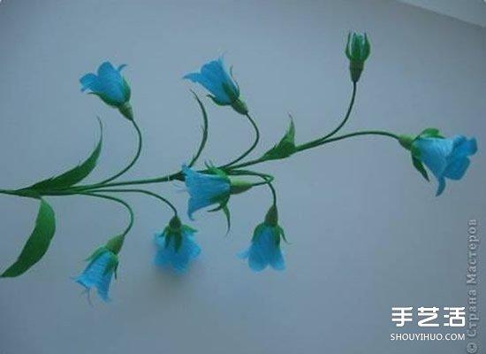 皱纹纸花的折法图解 如何用皱纹纸做花的步骤