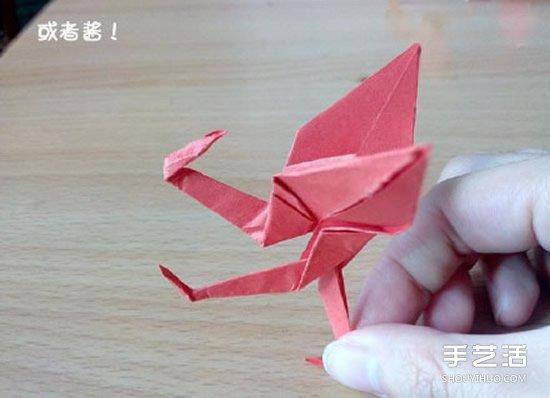 折纸猥琐鹤的方法图解