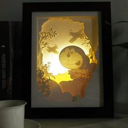 精美纸雕小夜灯图片 仿佛藏着神奇的童话王国
