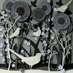 繁复的纸雕艺术作品新手 精美的纸雕作品图片