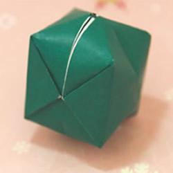 手工折纸气球教程 儿童折纸气球的折法图解