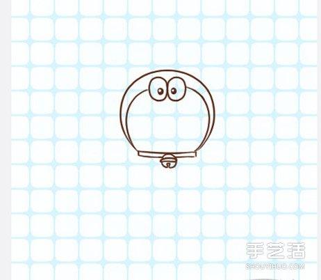 哆啦A梦简笔画图片步骤 哆啦A梦简笔画带颜色