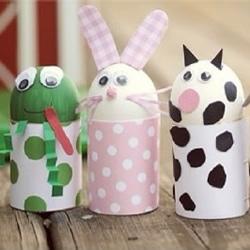 卷纸筒废物利用小制作 适合爱做手工的孩子们