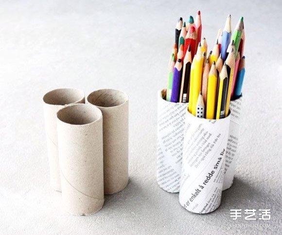 卷纸筒废物利用小制作