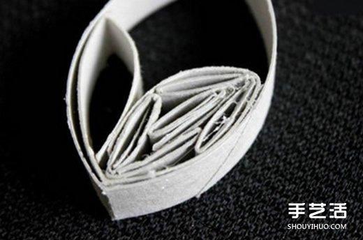 卷纸芯创意手工制作雪花 卷纸芯做雪花的方法
