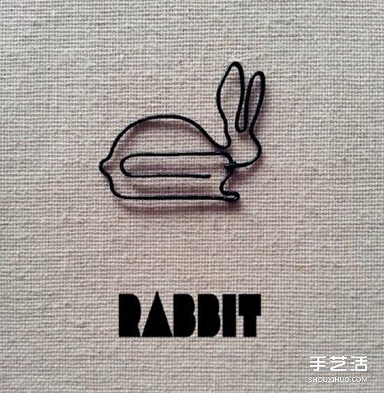 回形针手工制作图片 简单幼儿回形针小制作 - www.shouyihuo.com