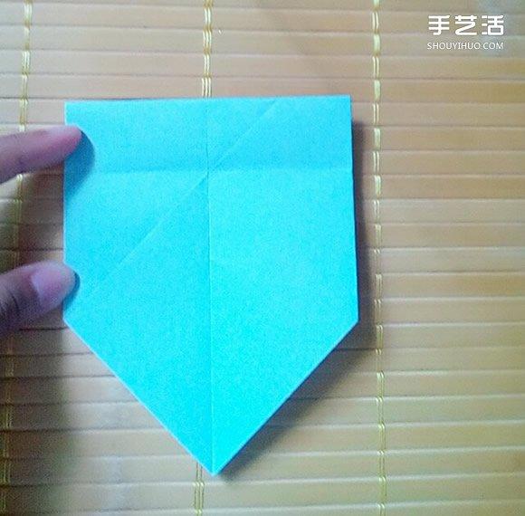 七夕礼盒的折纸方法 八边形纸盒的折法图解 - www.shouyihuo.com